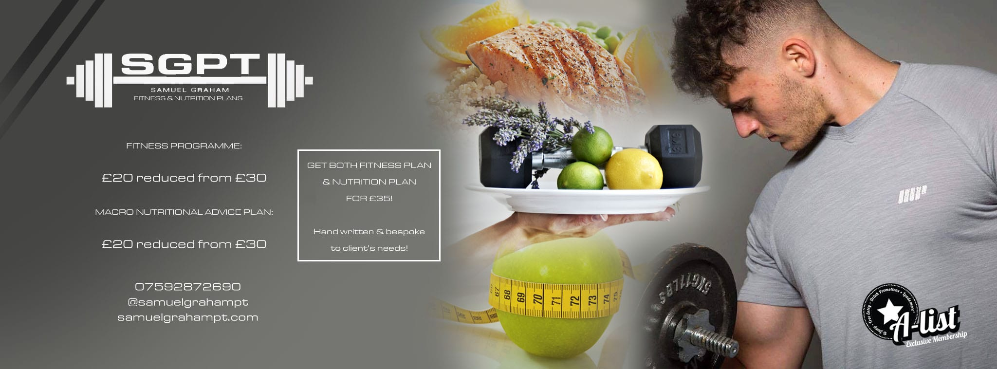 SGPT Fitness & Nutrition Plans