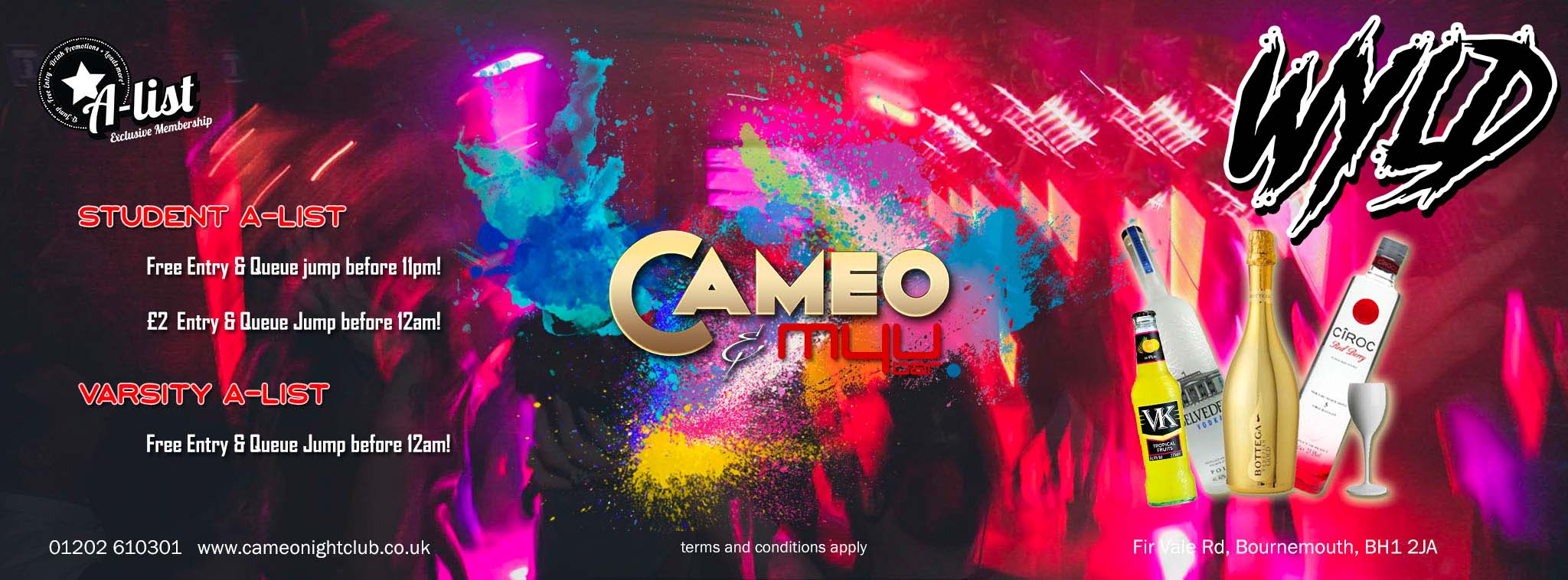 Wyld Wednesdays @ Cameo