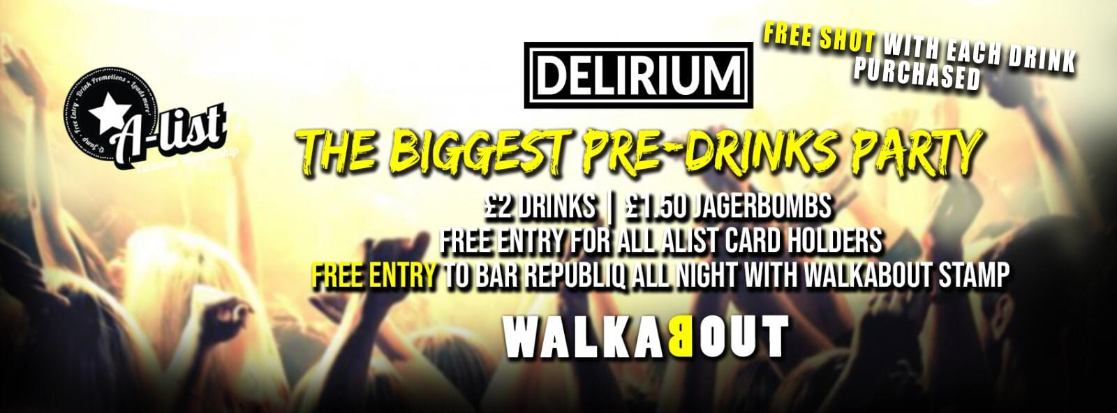 Walkabout Wednesday Pres To Wyld @ Cameo