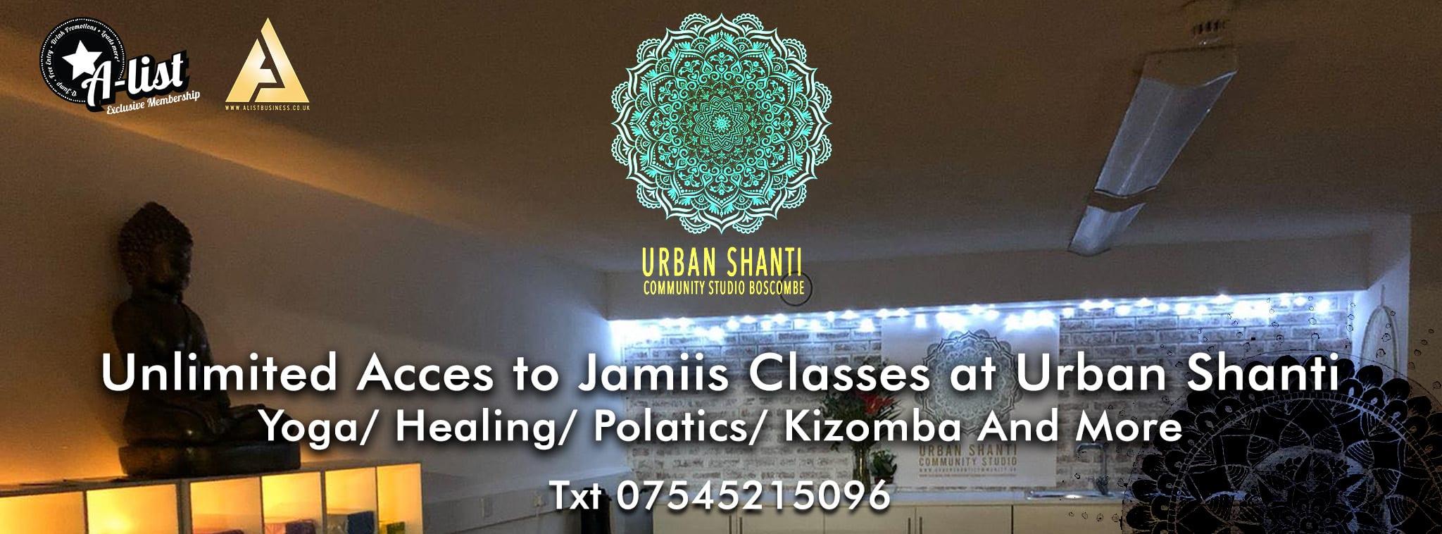 Urban Shanti – Jamii's Classes