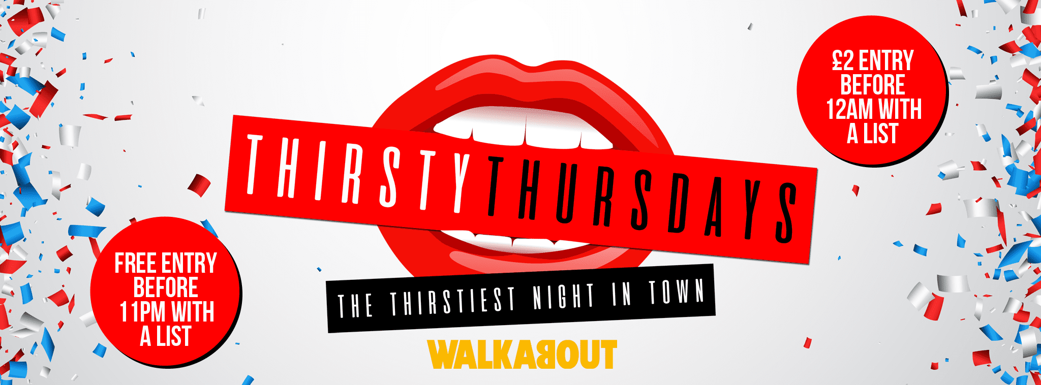 Walkabout Thirsty Thursdays