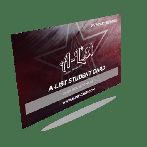 A-List Card