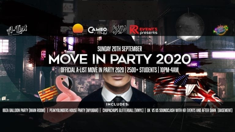The Official Move In Party 2020